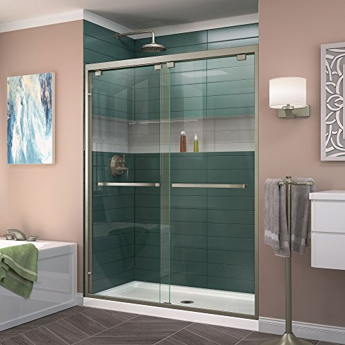 Frameless Bypass Shower Doors - 9