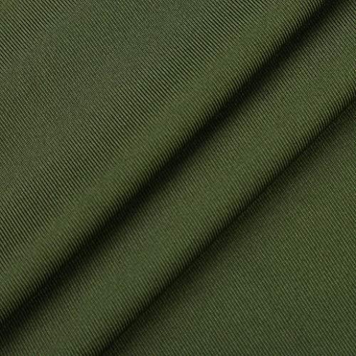 Sixcup en Couleur Grande Top Tops Irrgulier Manche Chemise Shirts Femme Dentelle Vetement Blouse Taille Shirt Cher Chemisier Pure T Vert Longue Pas Col Haut rnxpHq1rUw
