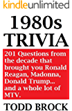 1980s TRIVIA (TRIVIA by Todd Brock Book 3)