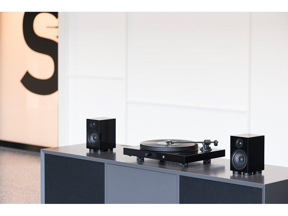 Pro-Ject Juke Box E HiFi Set Belt-Drive Audio Turntable Black ...