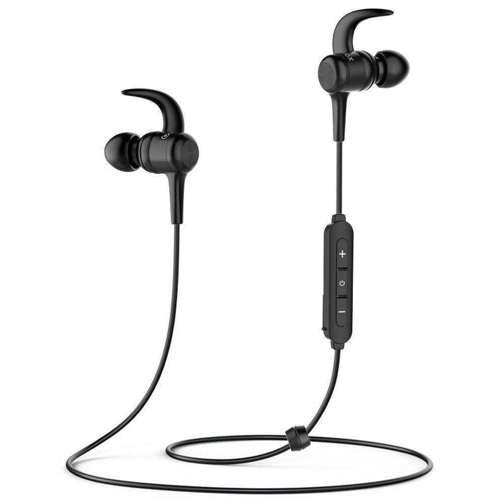 Auriculares Bluetooth MAX Duraci/ón 8 Horas para iPad iOS Android M/óviles Smartphones PC COULAX 4.1 Magn/éticos In-Ear Cascos Deportivos Inal/ámbricos con Mic