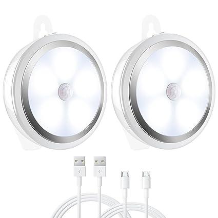 Amir, 3 modos de luz Sensor de movimiento Sensor de movimiento de batería LED luz