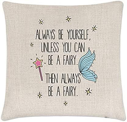 Gift Base Always Be Yourself Hada Lino Funda de Cojín ...