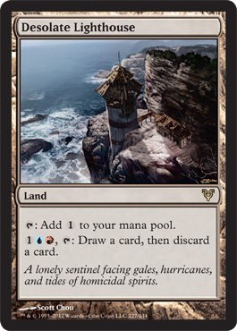 Magic: the Gathering - Desolate Lighthouse - Avacyn Restored