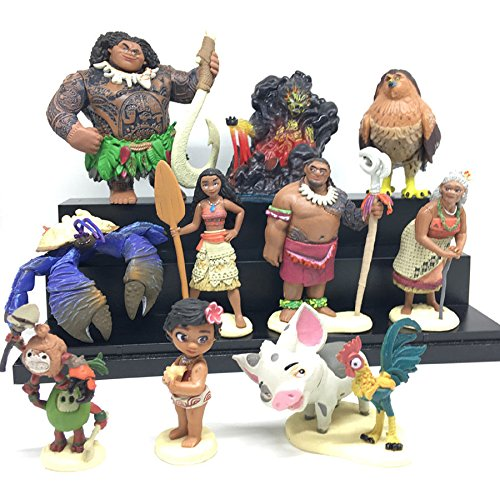 gg Movie Moana Maui Waialik Heihei pig Pua Action Figure Toy Child Gift - Sunglass Hut Wiki