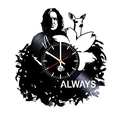 Severus Snape Harry Potter Handmade Vinyl Record Wall Clock