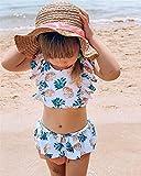swimsobo Toddler Baby Girls Bathing Suit Colorful