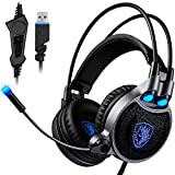Best  - USB Gaming Headset for PC Laptop Mac, SADES Review