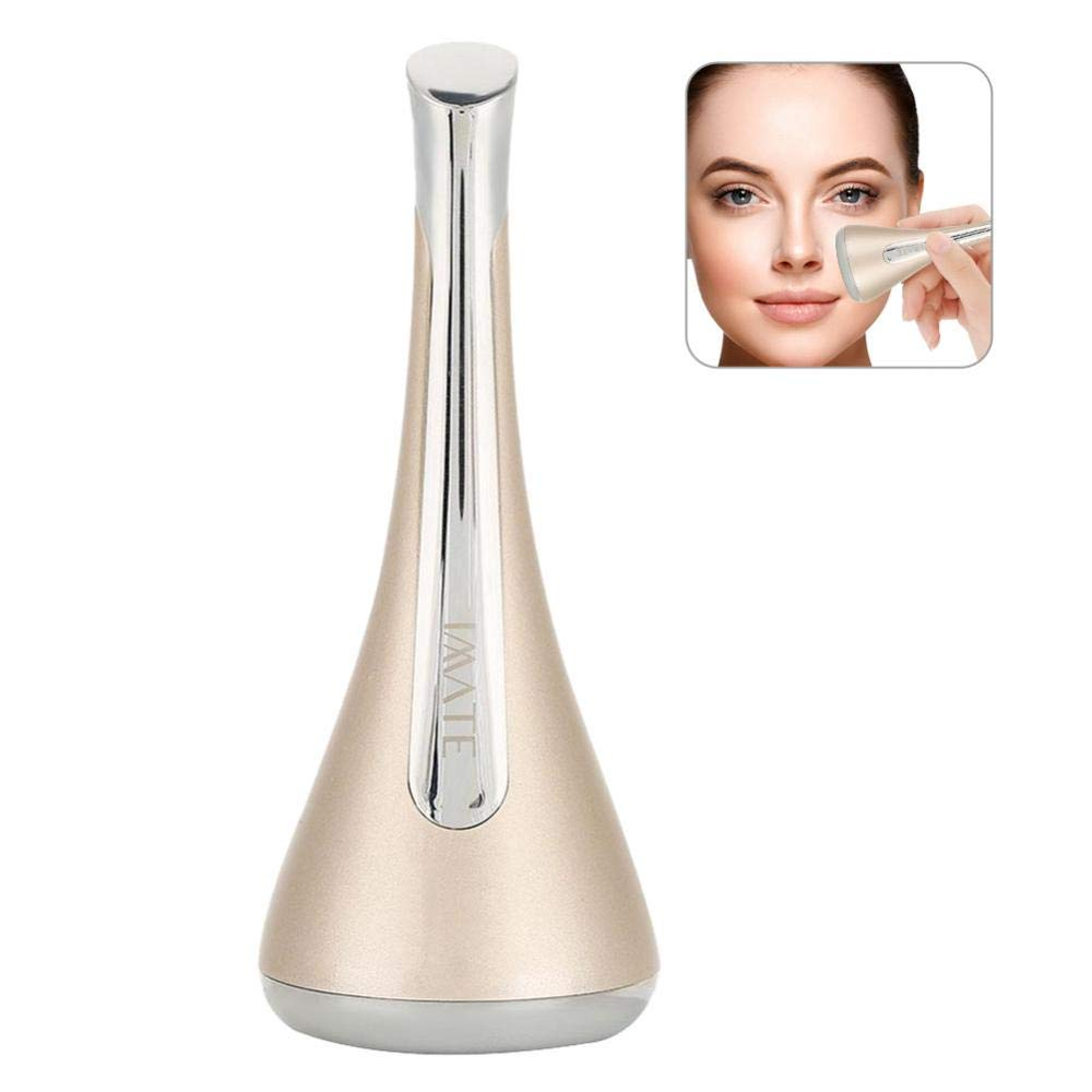 Beauty Instrument, Eye + Face Massager, Whitening and Brightening + Firming Skin Magnetic Introduction Mask Instrument (Silver) Brrnoo