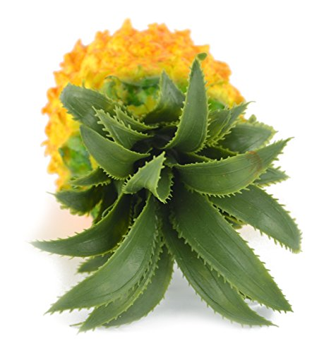 Samyo artificial lifelike simulation pineapple fake fruit for Artificial pineapple decoration fruit