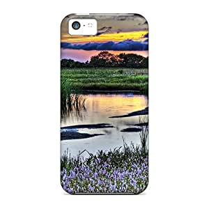 Excellent Design Boardwalk Along The River Hdr Case Cover For iPhone 6 plus 5.5