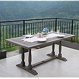 Cambridge-Casual Amz-320829 Renley Rectangular Dining Table, Grey