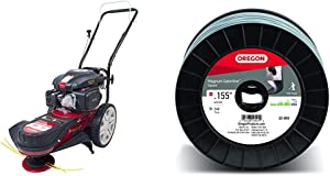 Southland Outdoor Power Equipment SWFT15022 150cc Field Trimmer, Includes Oil & Oregon 22-855 Heavy-Duty Professional Magnum Gatorline Square String Trimmer Line .155-Inch Diameter 3-Pound Spool