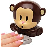 Monkey Fingernail Dryer - Cute Animal Blow Drys Polished Nails For Manicures