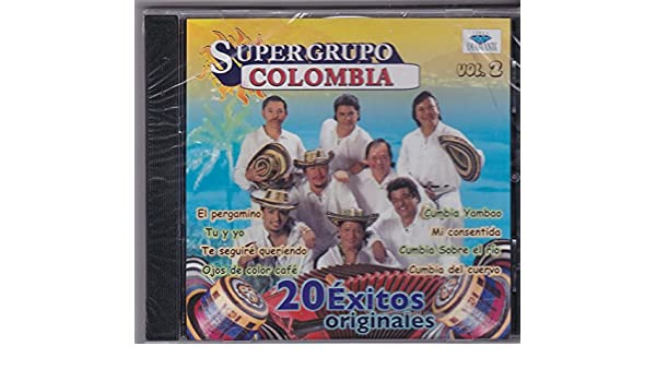 Super Grupo Colombia - Super Grupo Colombia (20 Exitos Originales Vol. 2 CDD-7132) - Amazon.com Music