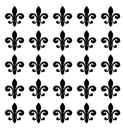 Gustave Fleur de lis Decals Tanning Stickers Tanning Bed Stickers Tanning Bed Decals Tan Line Decals