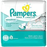 Pampers Sensitive Baby Wipes - Unscented - 168 ct