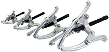 4-Pc Three Jaw Gear Pulley Steering Wheel Puller Set