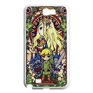 DIY Stylish Printing Game The Legend of Zelda Cover Custom Case For Samsung Galaxy Note 2 N7100 MK1M442490