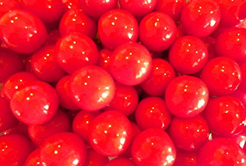 (Oak Leaf Really Cherry Red Gumballs 1 Diameter 1 Pound ( 16 OZ ))