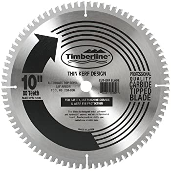 Timberline 250 800 General Purpose And Finishing 10 Inch