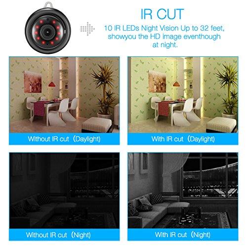 DIGOO DG-M1Q 960P HD Home Security Camera, 2 8mm Lens Indoor