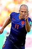 Arjen Robben Football Soccer Stars Spun Silk Fabric Cloth Wall Poster Print (20x13inch 50x33cm)