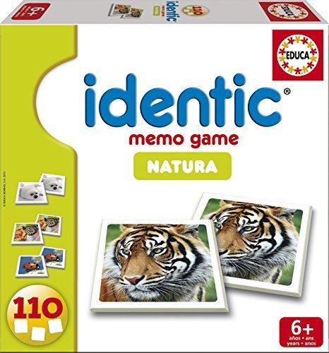 Identic Memo Game Natura by Educa