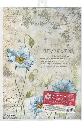 - Stamperia Rice Paper Sheet A4-dreamer