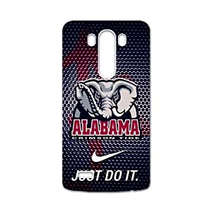 Hoomin NCAA Alabama Crimson Black Cool Theme LG G3 Cell Phone Cases Cover Popular Gifts(Laster Technology)