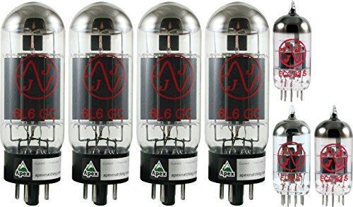 Bassman Head (Vacuum Tube Set for Fender Bassman 100T Head, Apex Matched)