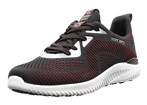 Chaussures Adulte Mode couleurs JOOMRA de 6 jogging poids 1719 léger Rouge Mixte wX1qffxI