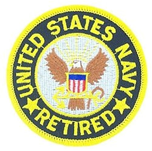 Us Navy Retired Patch - 3