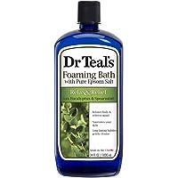 Deals on Dr Teals Foaming Bath Epsom Salt, Eucalyptus Spearmint, 34oz