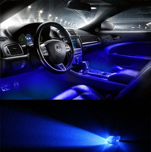 Genssi 2006 2010 Dodge Charger Interior Led Blue Lights