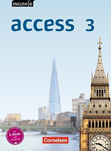 English G Access - Allgemeine Ausgabe: Band 3: 7. Schuljahr - Schülerbuch: Kartoniert
