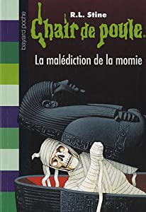 "Afficher ""Chair de poule n° 1<br /> La malédiction de la momie"""