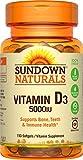 Sundown Naturals Vitamin D3 5000 IU, 150 Softgels
