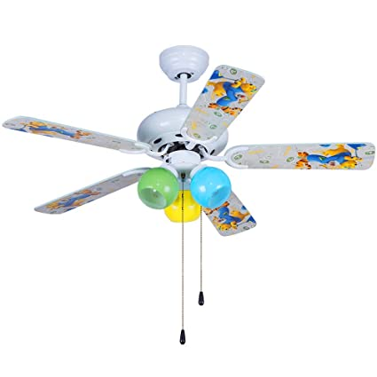 42 ceiling fan with light small bathroom andersonlight 42 inch cartoon child white ceiling fan light wood blade rope