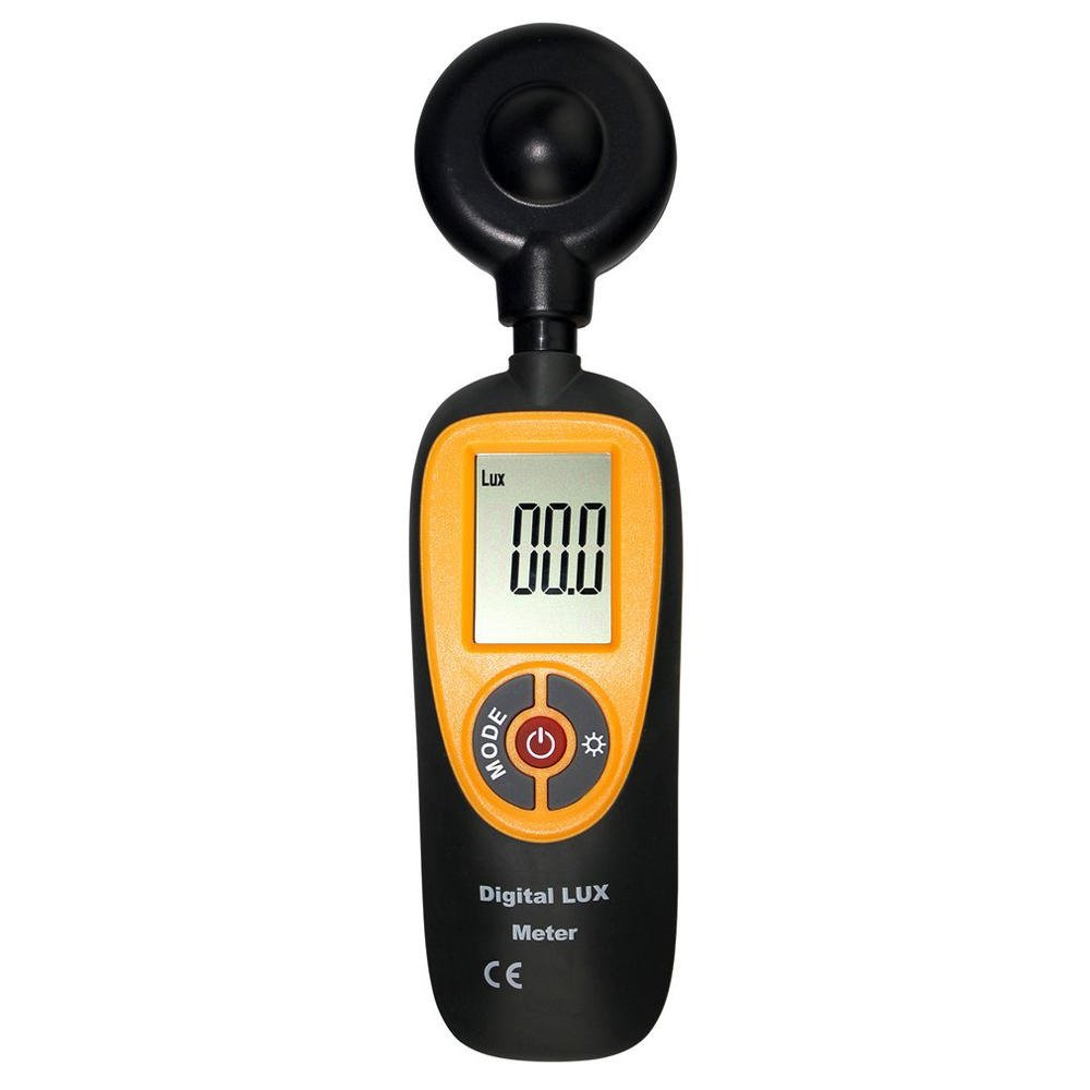 HT-92 Mini and Portable Meter With Screen Display 0~200000LUX Range Digital Meter Illuminance Meter - Nature Element Measurements Lux Meter- 1 x Light Meter,1 x Instruction Manual