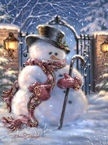 Northwest Art Mall Sir Fredrick Frosty Print by Dona Gelsinger, 18 by - Mall Fredrick