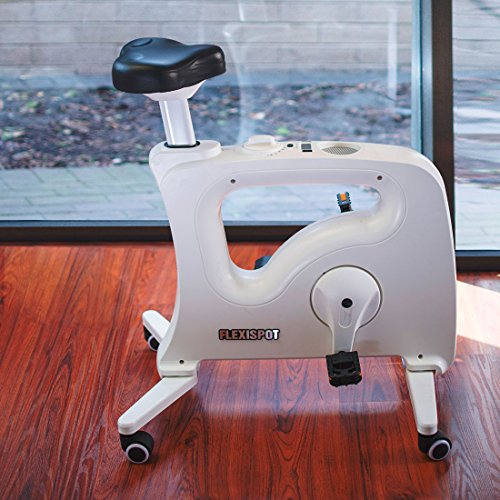 FLEXISPOT Desk Bike Home Office Under desk Exercise Bike Indoor Cycle