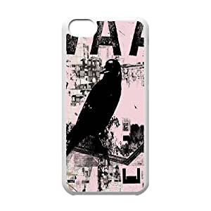 Cool Painting Bird Unique Design Cover Case for Iphone 5C,custom case cover case566961