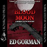 Front cover for the book Blood Moon by Ed Gorman