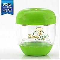Binky Fresh UV Pacifier and Baby Bottle Sanitizer- Green