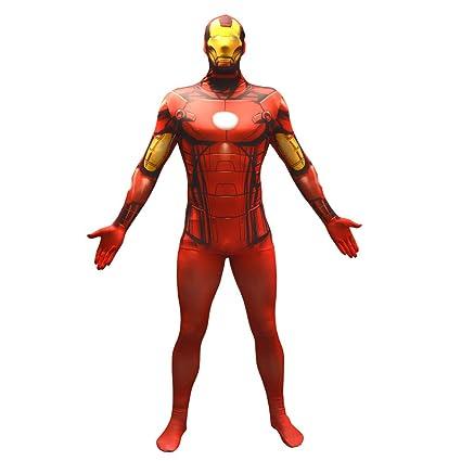 Morphsuits Traje Oficial de Disfraces básico de Capitán América tamaño Xxlarge - 6