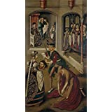 'Maestro de Miraflores Degollacion de San Juan Bautista 1490 1500 ' oil painting, 12 x 22 inch / 30 x 56 cm ,printed on polyster Canvas ,this Reproductions Art Decorative Prints on Canvas is perfectly suitalbe for Bar decoration and Home artwork and Gifts