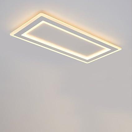 Amazon.com: Ultra-thin LED de techo, sala de estar luz ...