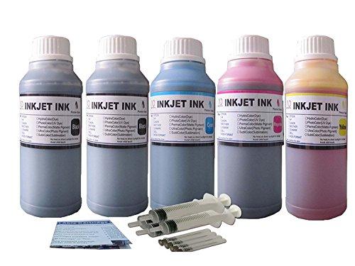 ND R@ 5X250ML refill ink kit for HP 952 952XL cartrdige OfficeJet 8715 Pro 8710 Pro 8720 Pro 8730 Pro 8740