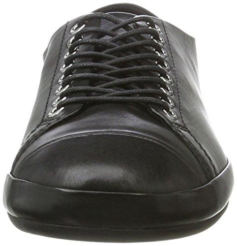 Black Mujer de para Vagabond Negro Zapatos Derby Cordones 20 Rose 8wCwgP